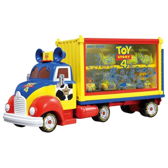 4165本通 TS4 玩具總動員收納車 4904810133629 下標前請詢問