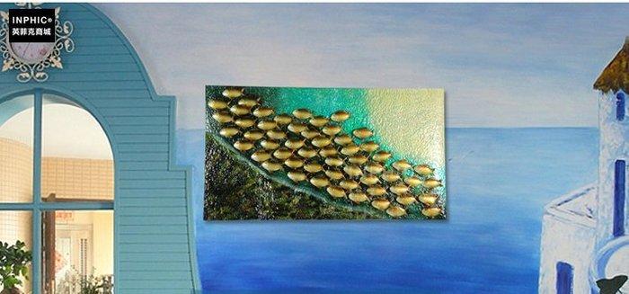 INPHIC-鐵藝創意地中海家居壁飾牆飾客廳裝飾品工業風_S01902C
