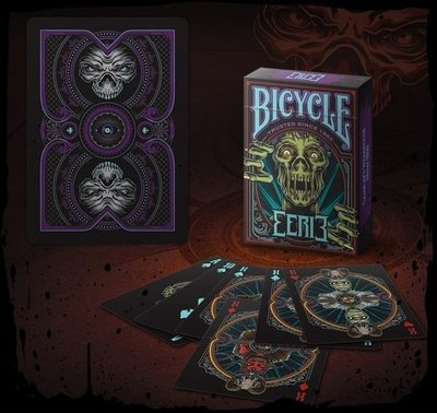 【USPCC撲克】Bicycle Eerie playing cards purple