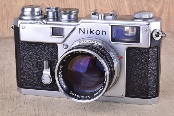 【品光攝影】Nikon S3 + NIKKOR-S 50mm F1.4 原型機  #GX0356