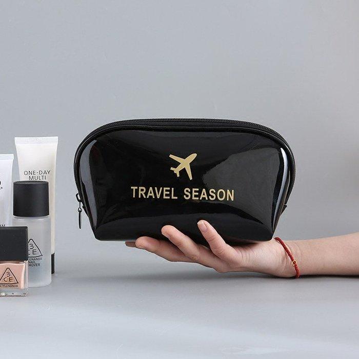 乾一旅行化妝包大容量防水韓國時尚手拿包簡約便攜多功能化妝品收納包