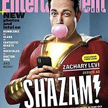 【布魯樂】《代訂中》[美版雜誌] ENTERTAINMENT WEEKLY電影雜誌《沙贊!》『Shazam!』