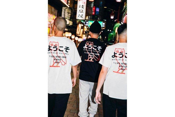 XinmOOn October's Very Own OVO Tokyo 開幕紀念 T-Shirt 饒舌歌手 貓頭鷹 黑