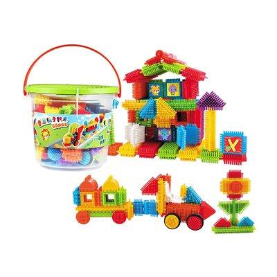 積木城堡 迷你廚房 早教益智澳貝百變拼裝積木 益智早教嬰幼兒童男女孩玩具禮物拼插1-2-3歲