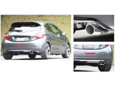 日本 Fujitsubo Authorize R 藤壺 排氣管 中 尾段 Peugeot 208 GTi 13+ 專用