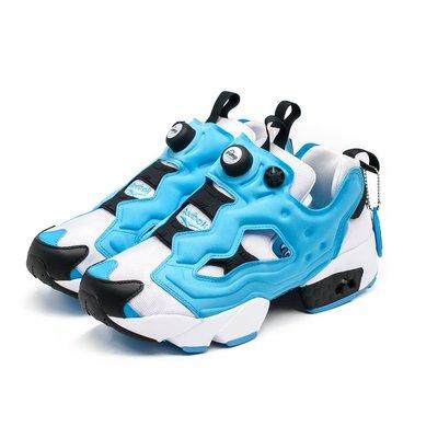 =CodE= REEBOK INSTA PUMP FURY OG 充氣慢跑鞋(白藍黑)EH1786 SHAQ ATTAQ