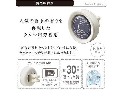 CARMATE PERFUME冷氣孔芳香消臭劑 粉末花香 - H1081