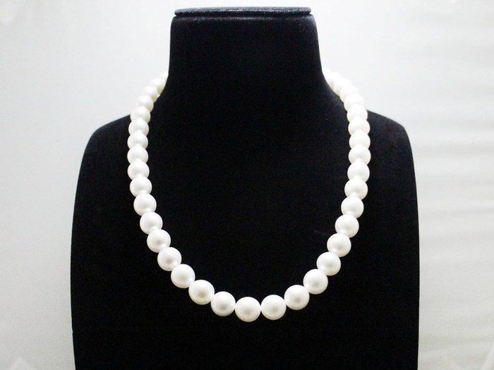 天然南洋珠 項鍊