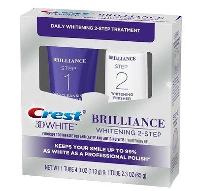 【雷恩的美國小舖】美國原裝Crest 3D White Brilliance 深層潔牙淨白雙管牙膏組
