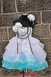 【凱迪豬生活館】動漫COSPLAY服裝 cosplay服裝V山茶花MIKU初音未來 全套 定做 COS服裝 cosplayKTZ-201050