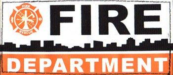 JHS((金和勝 生存遊戲專賣))警星FIRE DEPARTMENT 識別貼片(中) ID-16