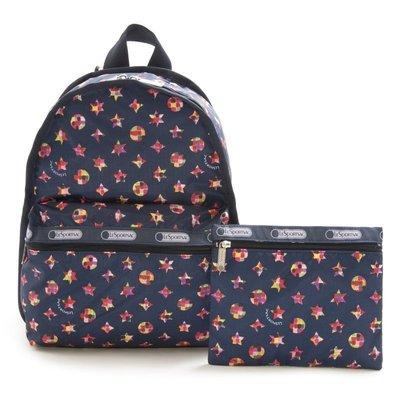 全新 Lesportsac japan backbag 背包 LeSportsac後背包MS-1096Xpp