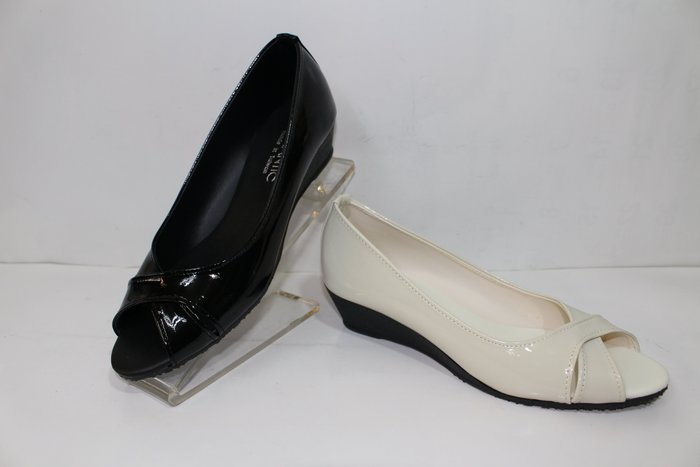 ALICE SHOES艾莉易購網 請把握!!搶鮮擁有簡約低跟魚口鞋@957@@三雙免運@MIT台灣製造