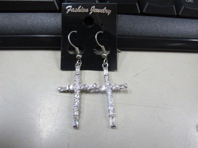 二手舖 NO.4487 時尚造型耳環 耳針 耳鉤 便宜賣 首飾飾品