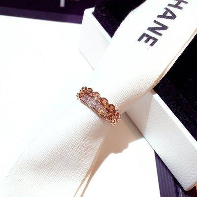配飾 戒指韓國新款時尚韓版歐美精致潮流超美鏤空鑲水鉆氣質戒指指環女