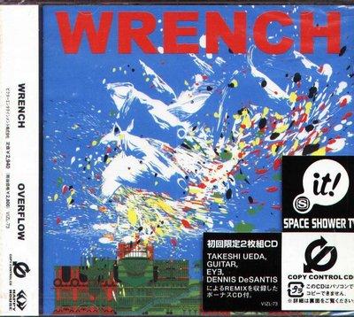 K - WRENCH - OVERFLOW - 日版 2CD - NEW