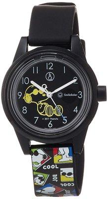 日本正版 CITIZEN 星辰 Q&Q SmileSolar RP01-807 史努比 手錶 日本代購