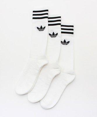 【Footwear Corner 鞋角 】Adidas OG socks White《單雙》三葉草高統襪(250元)
