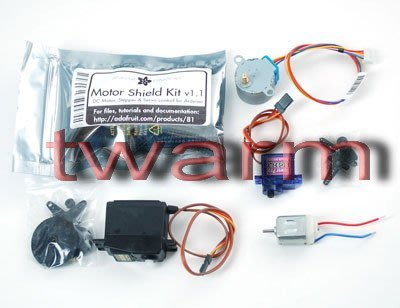 《德源科技》r)Motor party add-on pack for Arduino (ada171)