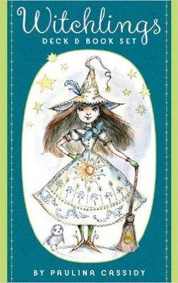 【預馨緣塔羅鋪】現貨正版女巫魔法咒語卡Witchlings Deck & Book Set(全新40張)