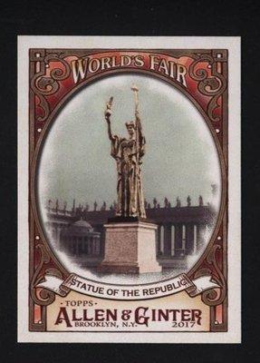 特卡 2017 Topps Allen Ginter World's Fair #WF18 Columbian Exposition