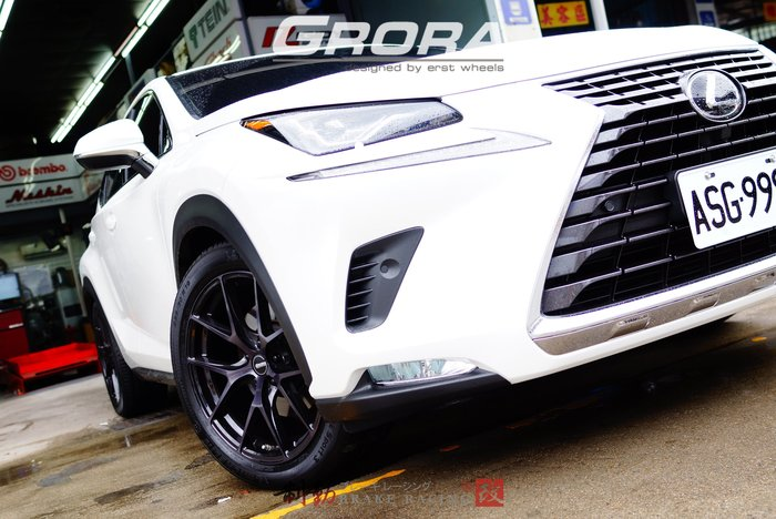 """㊣日本 ERST GRORA GS15V 19""""/20"""" 對應 NX Lexus 專用規格 可閃多活塞 / 制動改"""