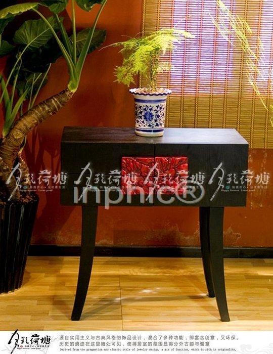 INPHIC-中式家具儲物櫃裝飾櫃玄關櫃門廳裝飾櫃-展示櫃