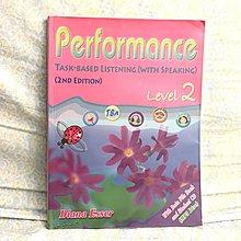 Performance task based listening (with speaking) level 2