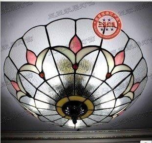 {美學}燈蒂凡尼燈具客廳臥室玄關過道門廳吸頂燈透明玻璃燈飾MX-2187