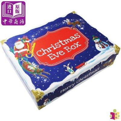 [文閲原版]圣誕平安夜大禮盒 Christmas Eve Gift Box 含故事繪本 貼紙 信封 人形立紙板