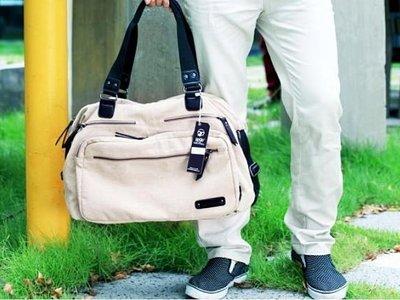 NYCT 韓國高品質GD歐美熱賣頂級百搭時尚日韓帆布男新款學生書包單肩街頭包袋潮包布挎包電腦品牌