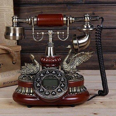 yes99buy加盟-歐式時尚創意歐式田園複古電話機 仿古電話機