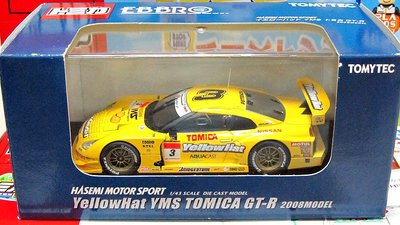 TOMICA (EBBRO) YellowHat YMS TOMICA GT-R 2008MODEL