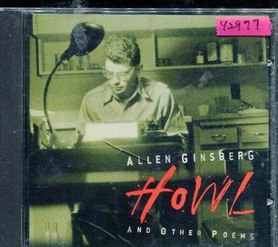 *還有唱片行* ALLEN GINSBERG / HOWL 二手 Y2977