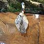 早期(鍍銀)天鵝玻璃 【 侘寂文學】叉子瓶日式禪風【古董級】特殊擺件 A05