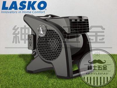 【紳士五金】❤️免運費露營愛用款❤️ LASKO 黑武士 專業露營渦輪循環風扇 超廣角電風扇 電扇 循環扇 強力電風扇