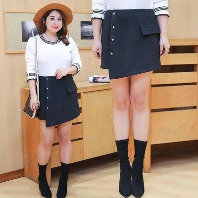 ✿plump girl 甜美✿中大尺碼女裝孕婦裝短褲靴褲裙0894