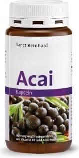 德國百年藥店Sanct Bernhard Acai 阿薩伊果巴西莓180入