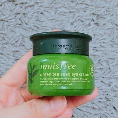 【大韓美妝館】韓國innisfree悅詩風吟Green Tea Seed Eye Cream綠茶籽眼霜30ml
