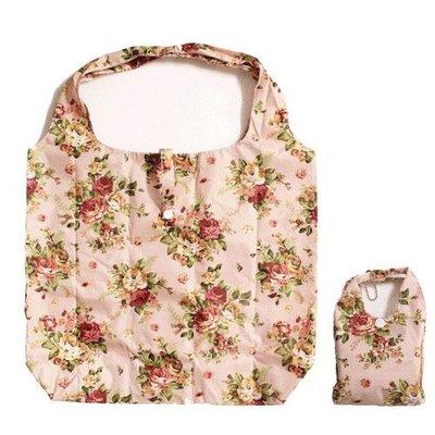 ~~凡爾賽生活精品~~全新日本進口玫瑰花造型收納袋.環保購物袋
