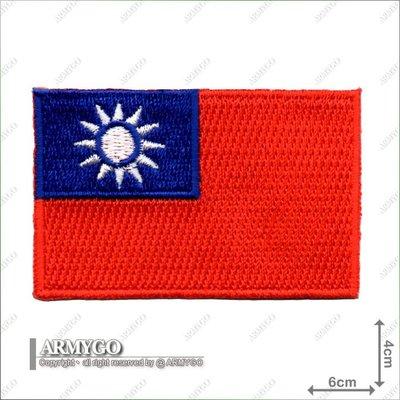 【ARMYGO】中華民國國旗(彩色版)(4x6公分)