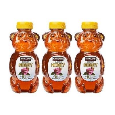 【多娜小鋪】 Kirkland 科克蘭 小熊造型蜂蜜 680公克*3入/產地阿根廷/好市多代購