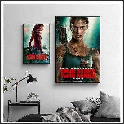 日本製畫布 電影海報 古墓奇兵 Tomb Raider 掛畫 嵌框畫 @Movie PoP 賣場多款海報#
