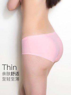 店長嚴選透氣冰絲舒適無痕內褲女性感低腰少女運動三角褲大碼女士內褲