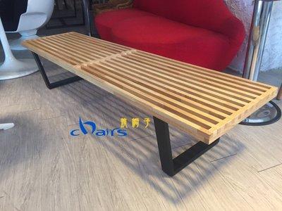 【挑椅子】美國設計Platform Bench長凳182 cm。(復刻版)XA-019