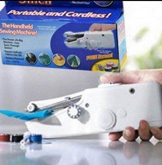 手持可擕式縫紉機 handy stitch 多功能迷你電動縫紉機