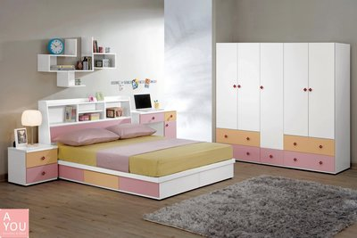 安妮塔5尺床片型雙人床  促銷價11600元(免運費)【阿玉的家2018】
