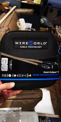 美國WIREWORLD GOLD ECLIPSE 8平衡線XLR 0.5米一對