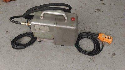 中古/二手電動油壓幫浦 -日東- SC-05 -日本外匯機 (J#252)