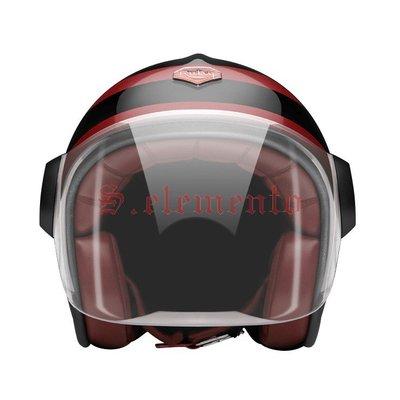 【預購優惠】Ateliers Ruby 安全帽 Belvedere Montmartre 碳纖維 3/4 復古帽